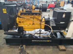 Used Broadcrown 165kVA open generator