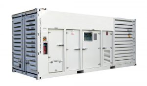 20ft 1250kVA Containerised Generator