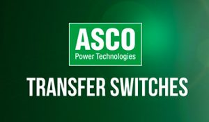 ASCO Transfer Switches for Hire