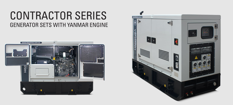 Generator Power Reveals a New Range of Generator Sets – The Contractor Series
