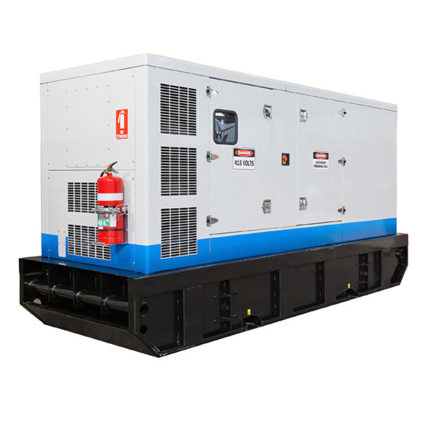 HEAVY DUTY SKID BASE DIESEL GENERATORS 250kVA - 700kVA