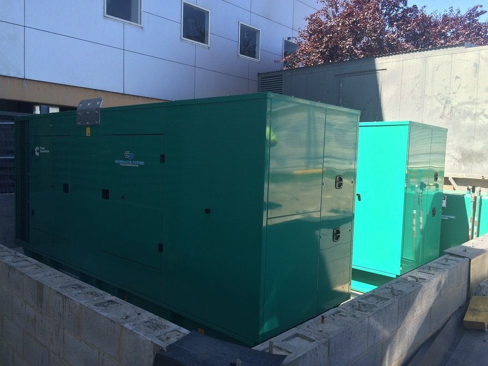 2 X Cummins C550D5 550KVA Diesel Generator - Critical Emergency Back Up Power For a Hospital