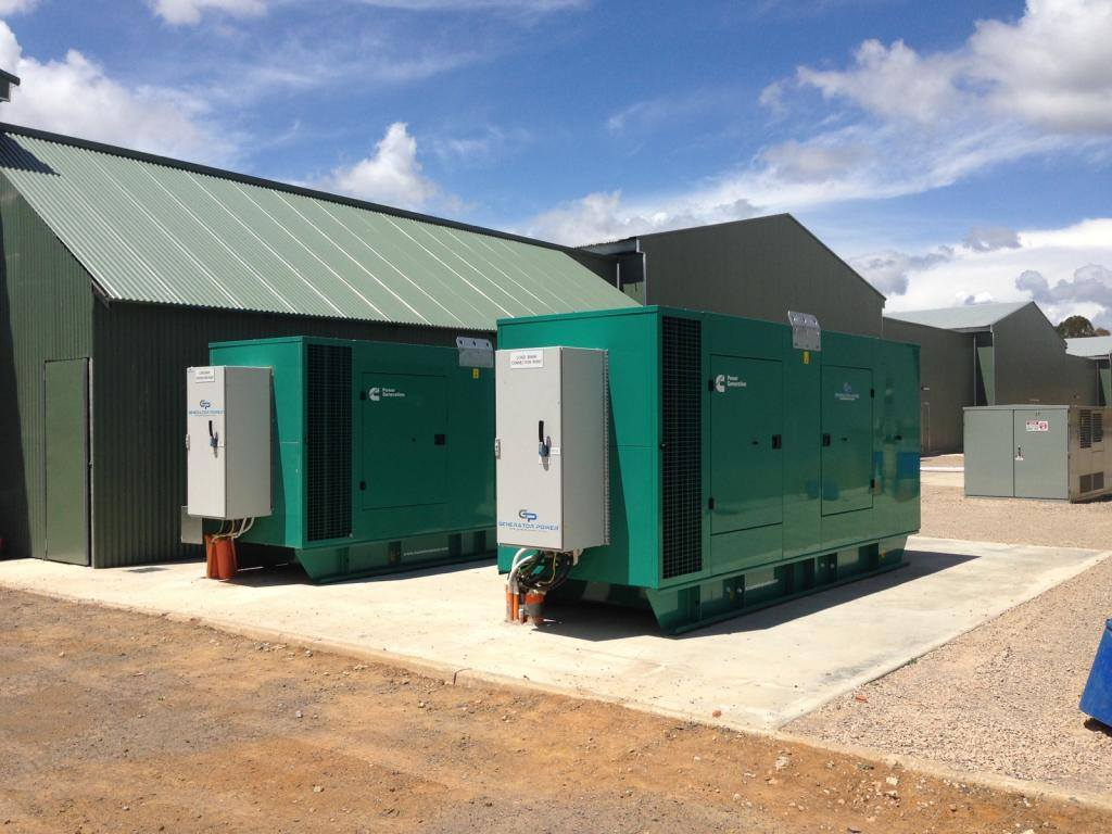 2 x Cummins C550D5 550kVA Diesel Generators – Emergency Back-up Power