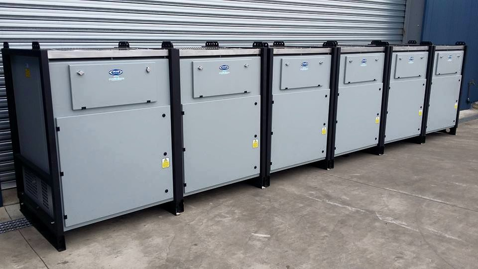 30 x Viking 200kW Custom Built Resistive Load Banks
