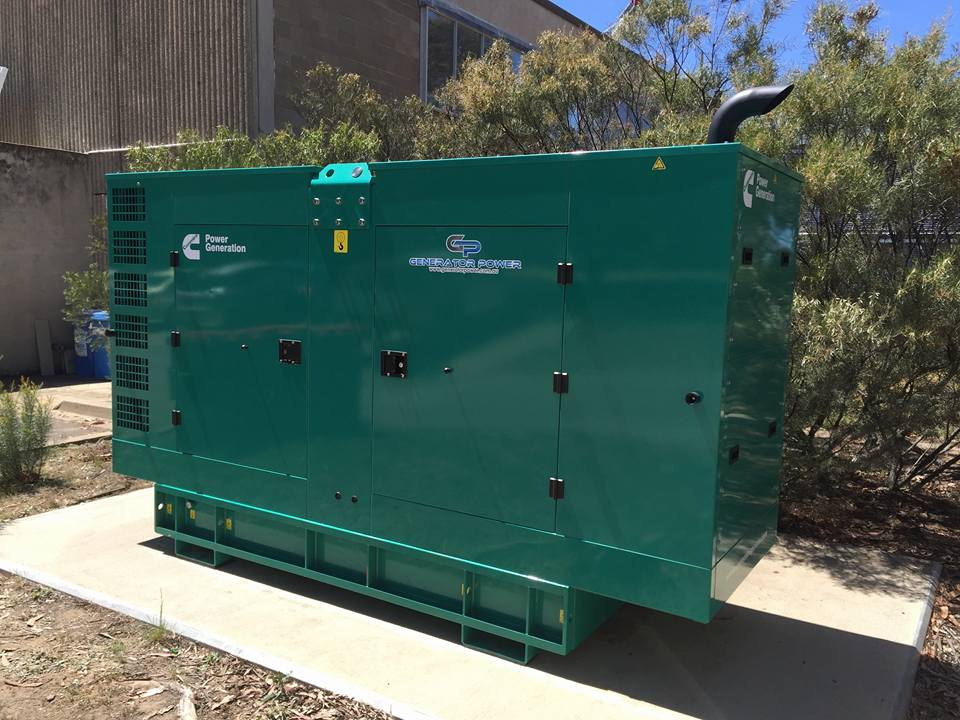 Cummins C150D5C-1 Diesel Generator – Back up Power For a Data/Computer Room