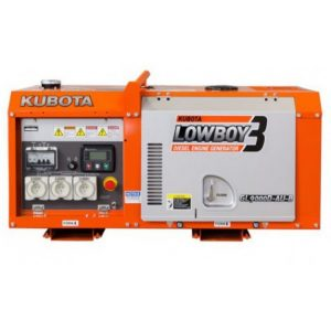 KUBOTA GL9000 DIGITAL 9KVA SINGLE PHASE DIESEL GENERATOR