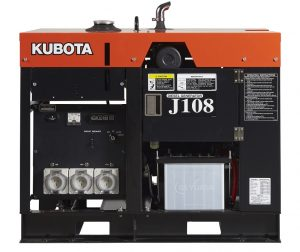 KUBOTA J108 8KVA SINGLE PHASE DIESEL GENERATOR