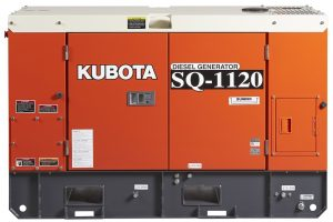 KUBOTA SQ1120B-AUS 11.2KVA SINGLE PHASE DIESEL GENERATOR