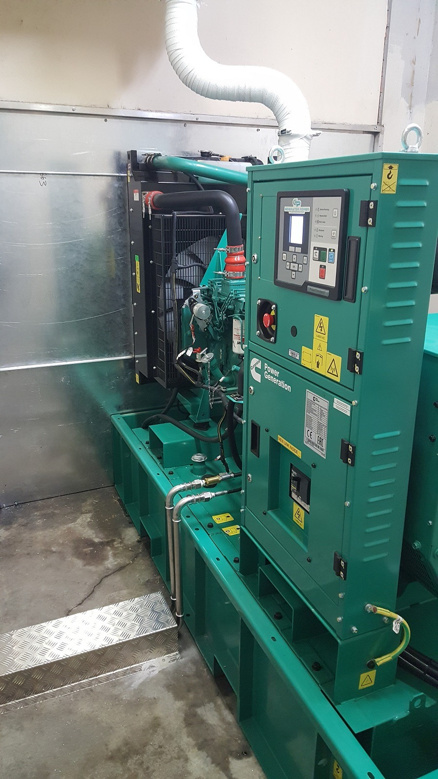 Cummins 150kVA Open Diesel Generator - Emergency Power Source
