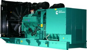 Cummins C1100D5 1110KVA Three Phase Diesel Generator - Open