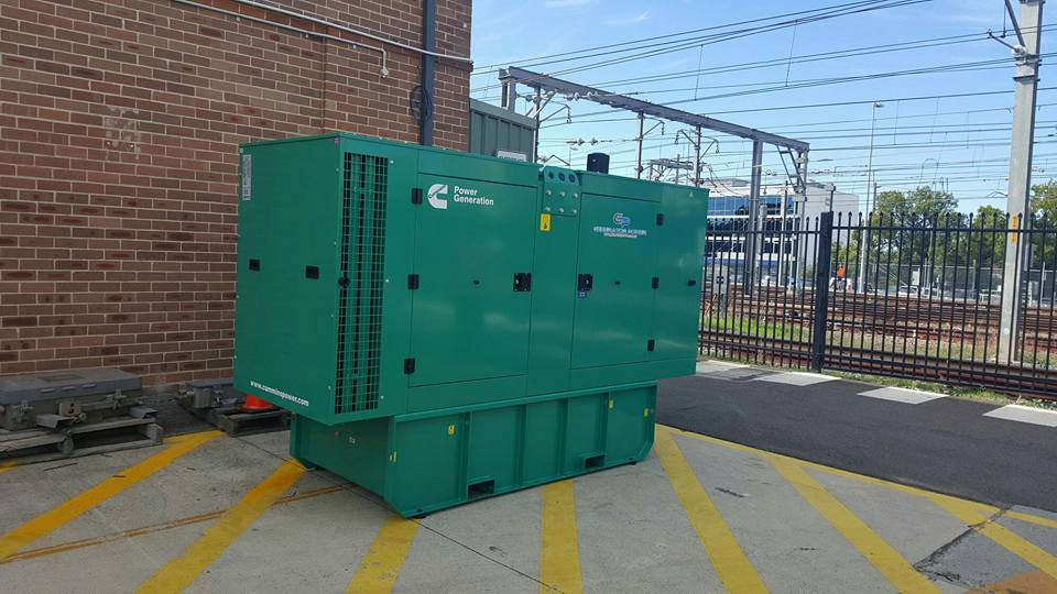 Cummins C110D5 110kVA Diesel Generator - Emergency Back Up Power
