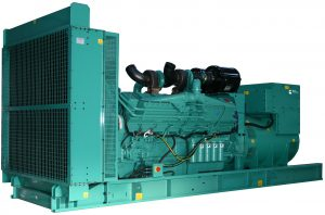 Cummins C1675D5 1675KVA Three Phase Diesel Generator - Open