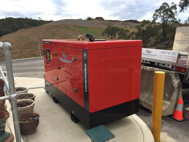 Himoinsa 20kVA Single Phase Diesel Generator - Back Up Power Rural NSW