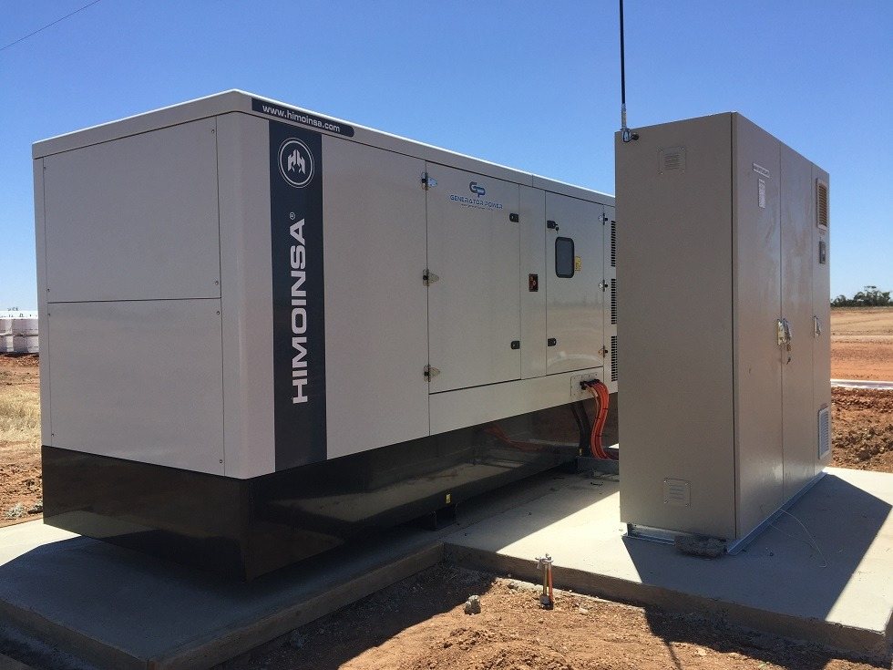 Himoinsa 390kVA Diesel Generator - Emergency Back Up Power
