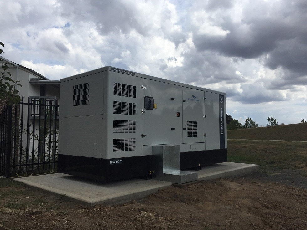 Himoinsa 400kVA Diesel Generator - Emergency Back Up Power