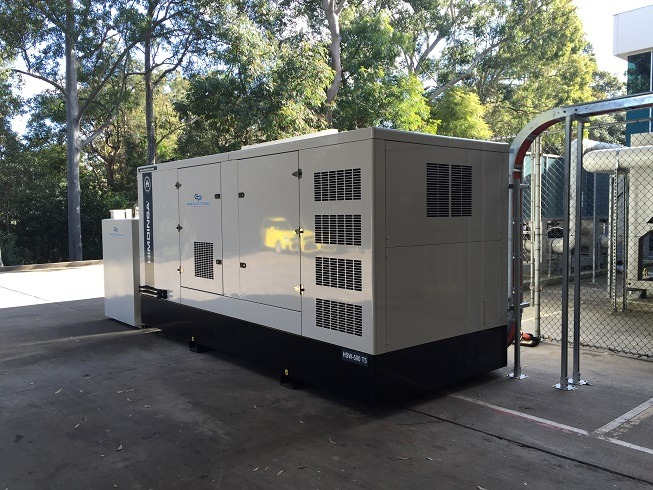 Himoinsa 550kVA Diesel Generator - Sydney Factory Back Up Power