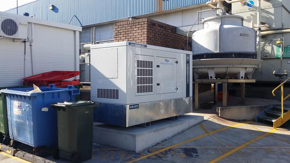 HIMOINSA HJW-100 T5 110KVA SILENCED DIESEL GENERATOR – SERVER ROOM BACK UP POWER
