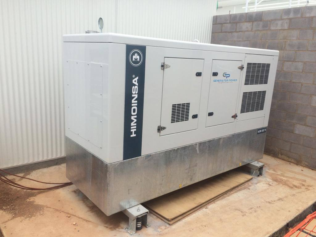 HIMOINSA HJW-150 T5 175KVA STANDBY DIESEL GENERATOR FOR A RURAL PRIVATE HOSPITAL