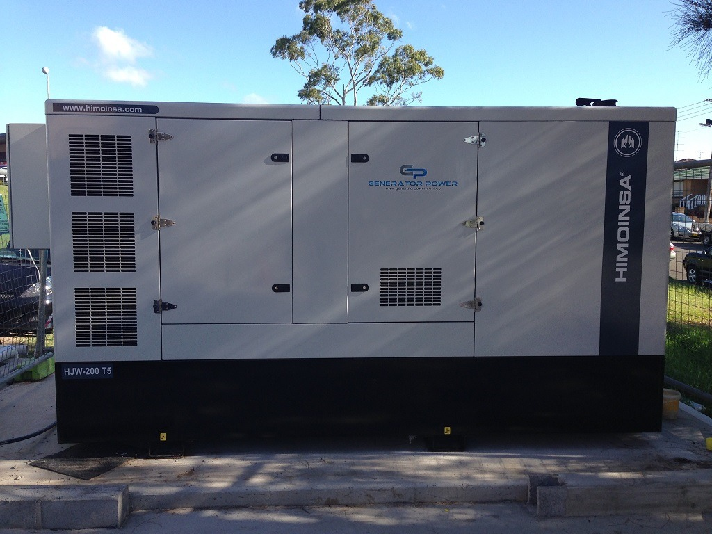 HIMOINSA HJW-200 T5 220KVA DIESEL GENERATOR – EMERGENCY STANDBY FOR A HOSPITAL