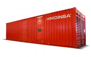 HIMOINSA HTW-1390 T5 1500KVA 3 PHASE CONTAINERIZED DIESEL GENERATOR
