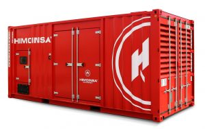 HIMOINSA HTW-780 T5 853KVA 3 PHASE CONTAINERIZED DIESEL GENERATOR