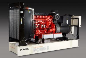 SCANIA SG280 280KVA 3 PHASE DIESEL GENERATOR - OPEN