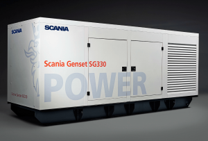 SCANIA SG330 330KVA 3 PHASE DIESEL GENERATOR - CANOPY