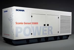 SCANIA SG601 600KVA 3 PHASE DIESEL GENERATOR - CANOPY