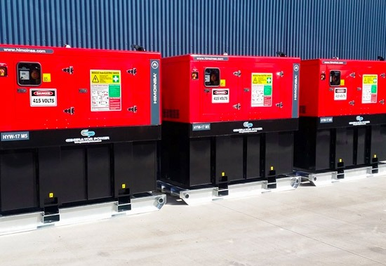 Mine Spec Diesel Generators