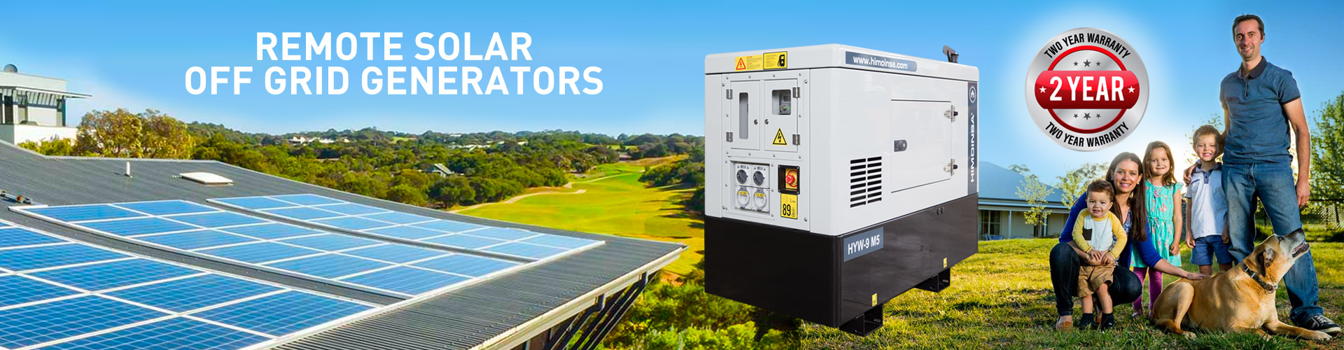 Remote Solar Off Grid Generators